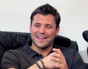 Mark Wright before hair transplant