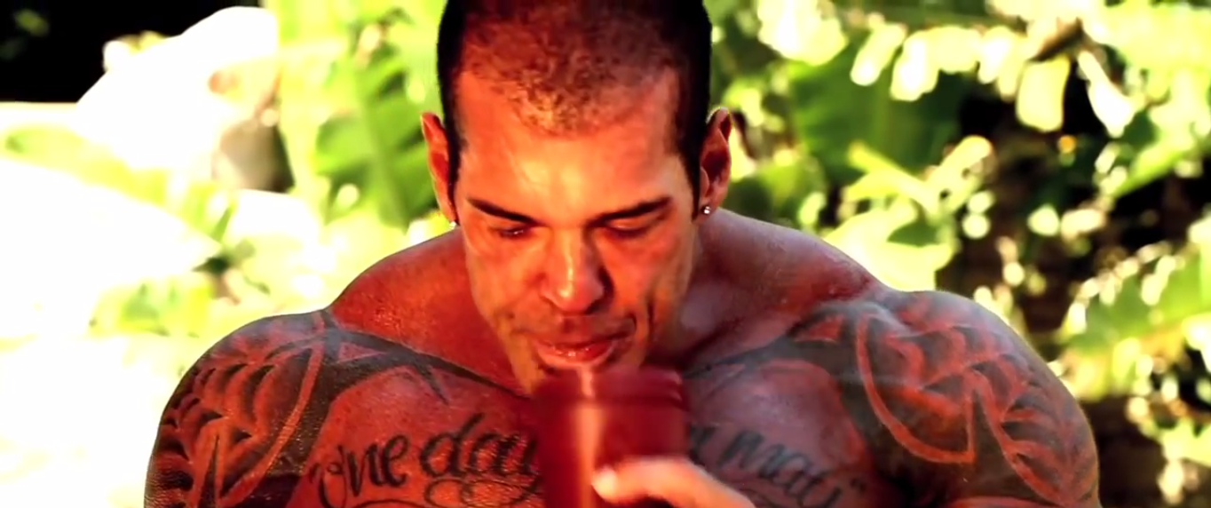 has rich piana had a hair transplant? before (2012)