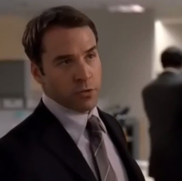 Jeremy Piven after first hair transplant
