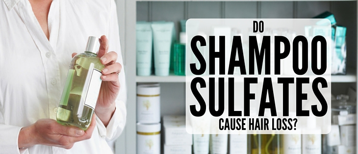 Do sulfates in shampoo cause hair loss?