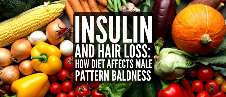 Insulin and hair loss