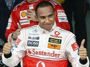 Lewis Hamilton hair (before)