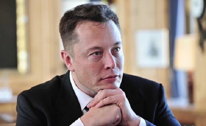 Elon Musk after hair transplant