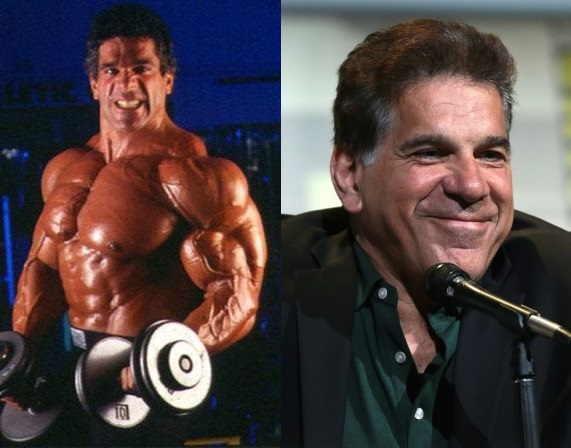 Lou Ferrigno no hair loss from steroids
