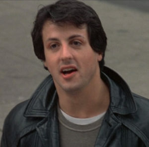 Sylvester Stallone hair in Rocky