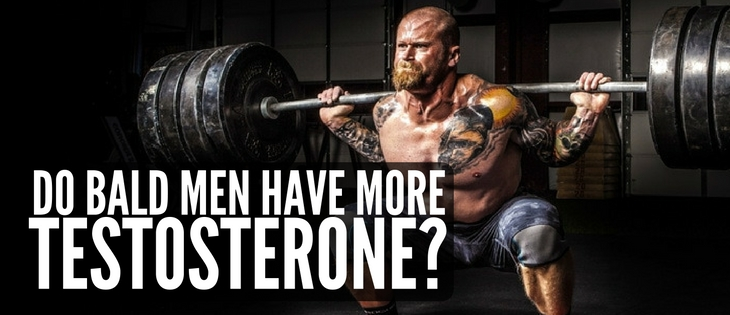 Do bald men have more testosterone?