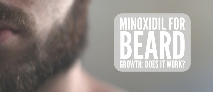 Minoxidil for beard