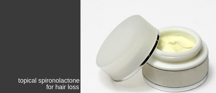 topical spironolactone for hair loss