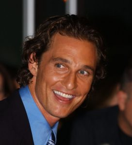 Matthew McConaughey after possible hair transplant