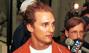 Matthew McConaughey hair loss 1999