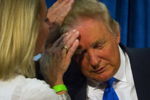 Donald Trump hair inspection