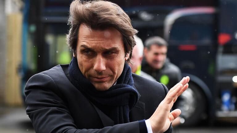 Antonio Conte hair transplant (after)