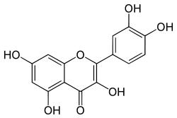 quercetin structure
