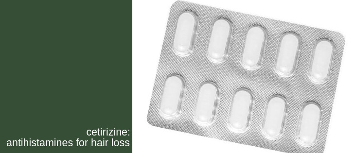 cetirizine for hair loss