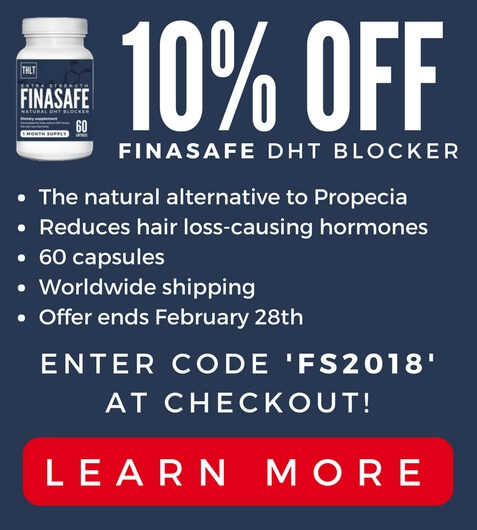 10% off Finasafe DHT blocker